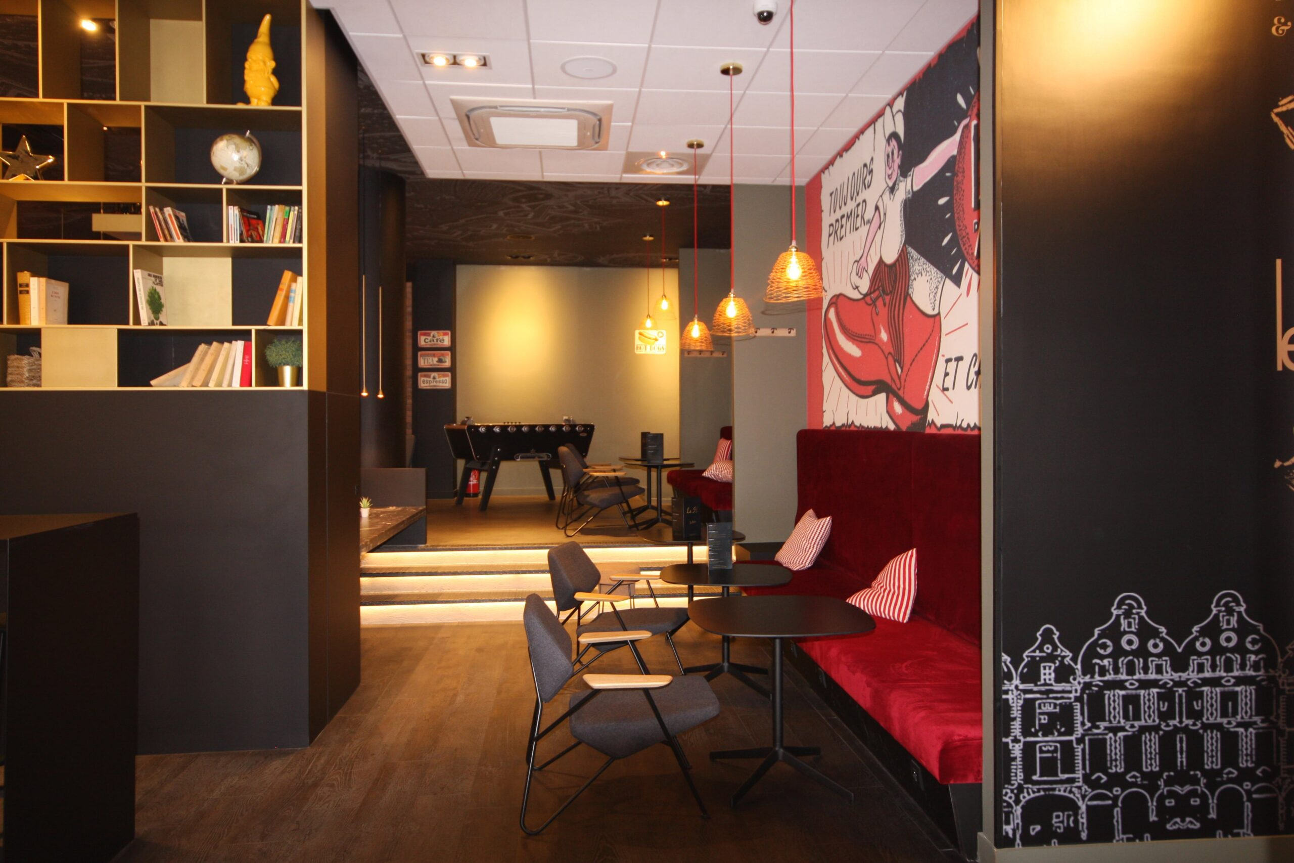 Architecte à Lille – Rénovation Hôtel- VR-architecture