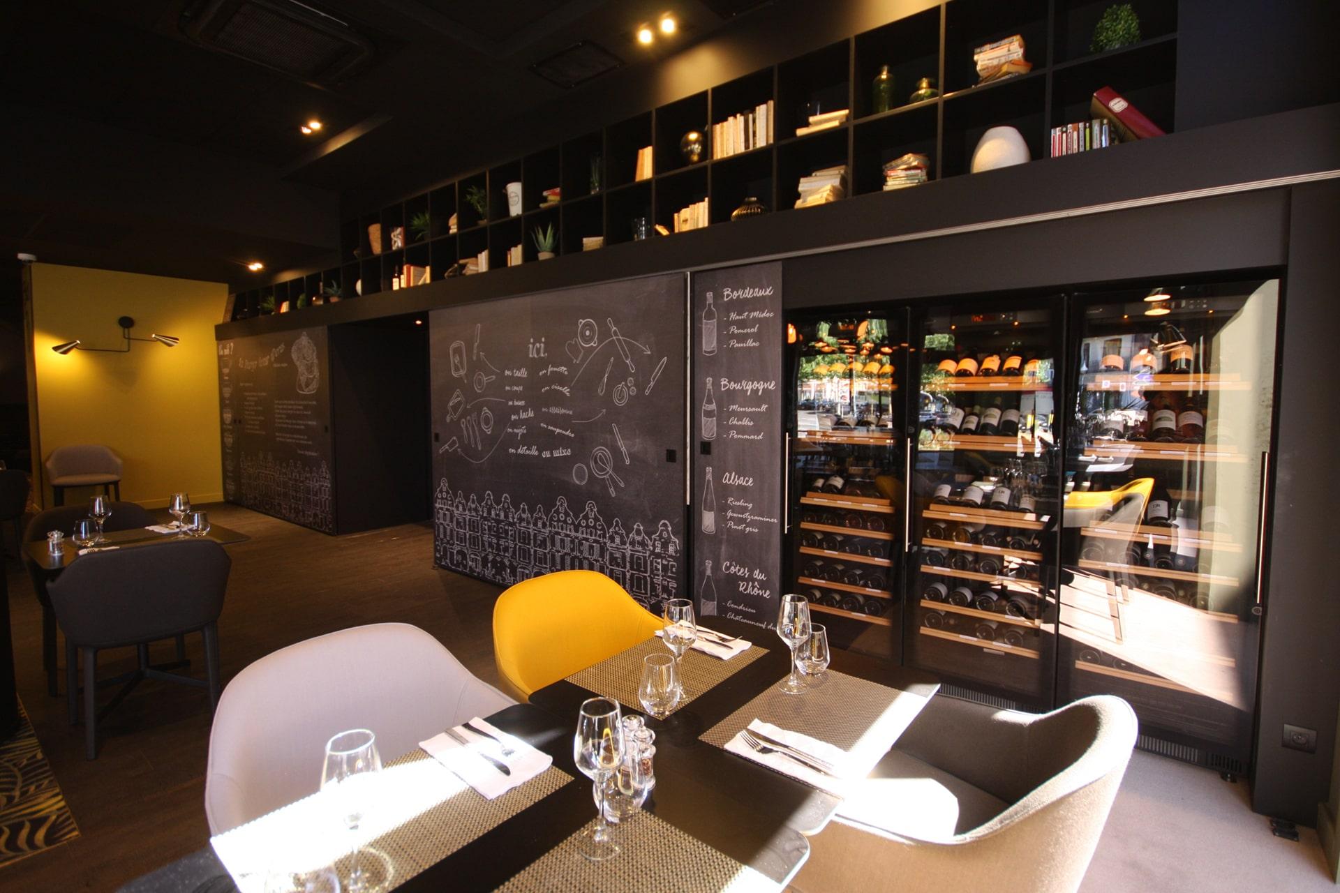 Architecte Lille Buffet Restaurant VR-Architecture Graphisme