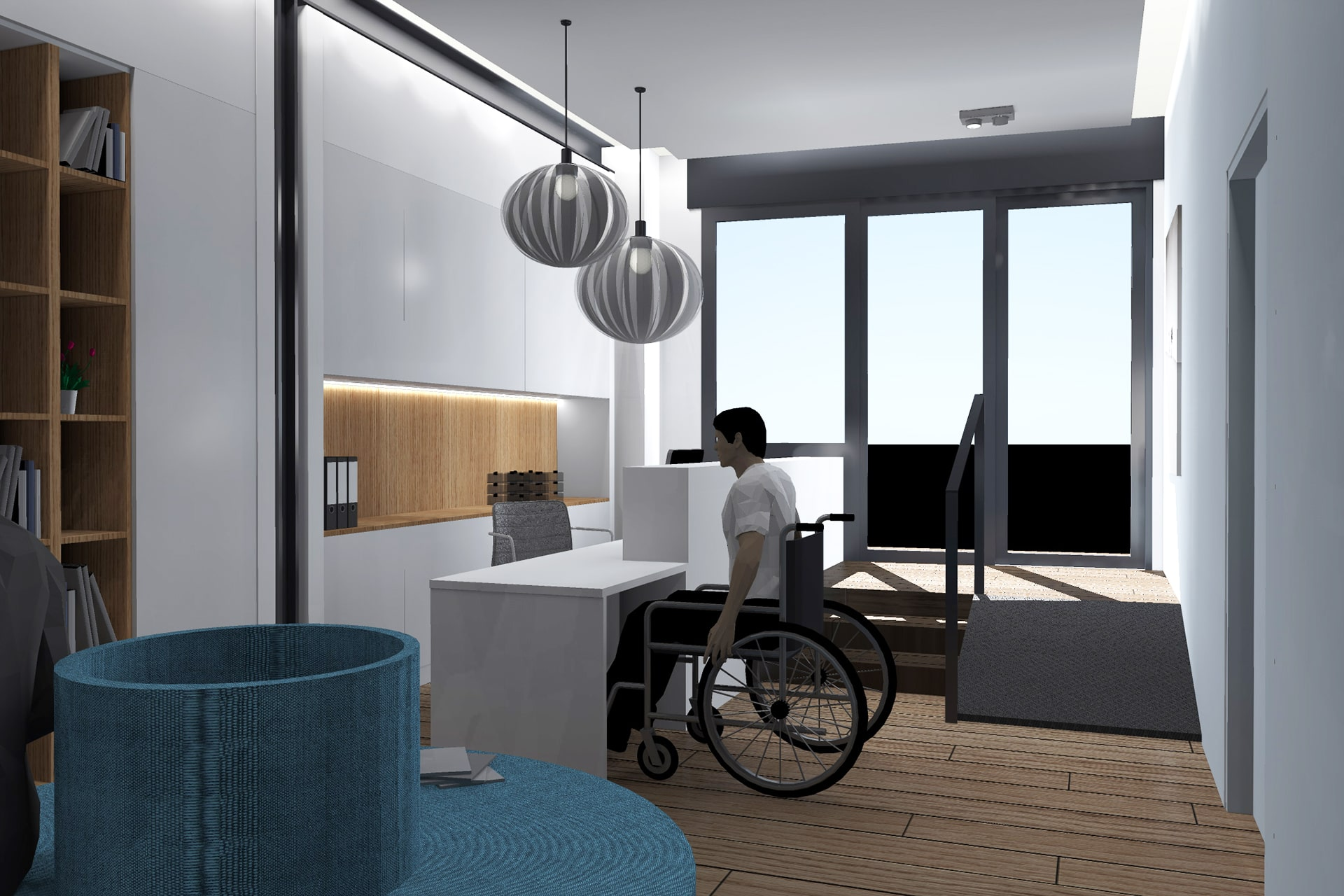 Architecte Lille Construction Centre Medical Kinesitherapeuthe Nord VR-architecture