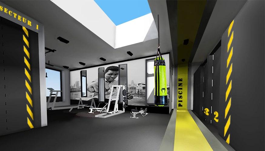 Architecte Lille Construction Centre Medical Kine Nord VR-architecture min