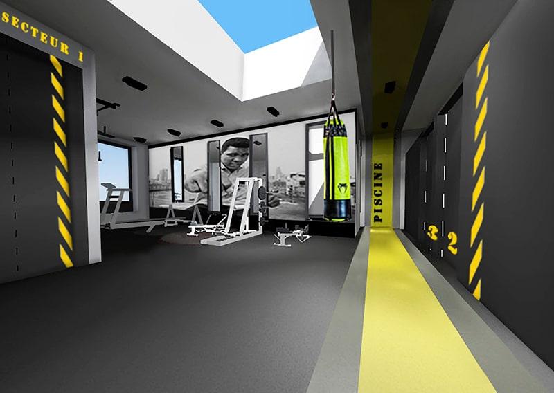 Architecte Lille Construction Centre Medical Kinesitherapeuthe Nord VR-architecture miniature