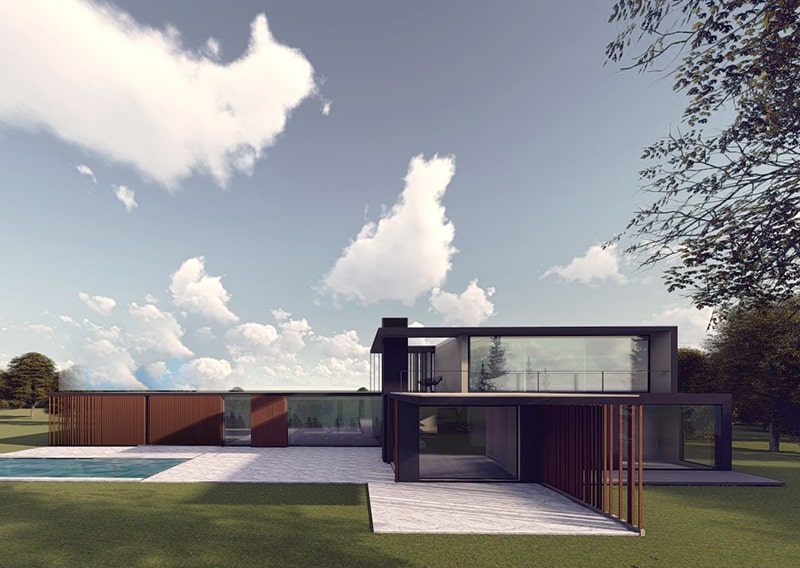 Architecte Lille Construction Residence VR-architecture miniature