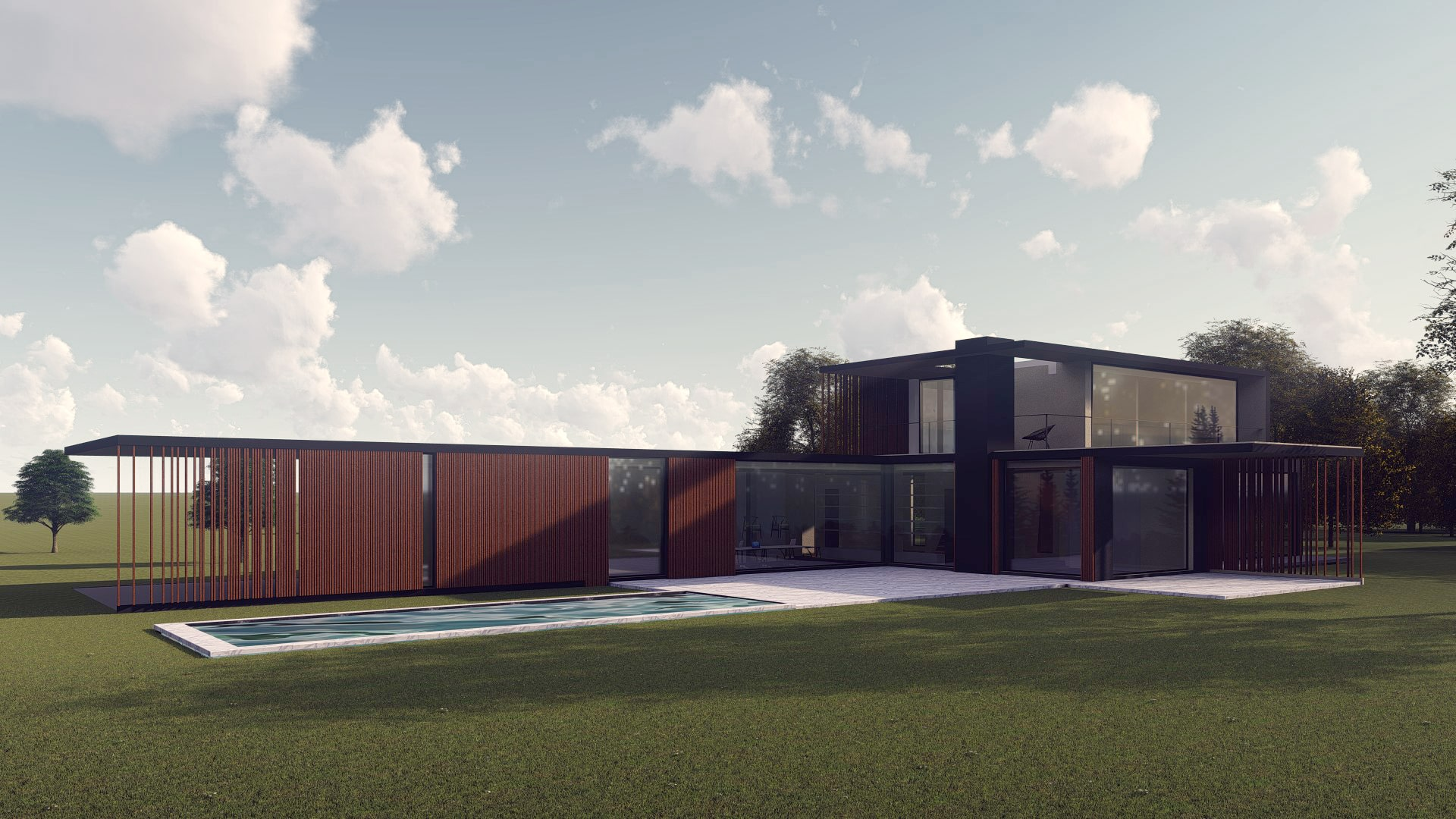 Architecte Lille Construction Residence Luxe VR-architecture
