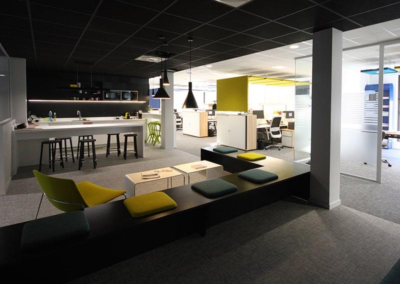 Architecte Lille Renovation bureau banque VR-architecture