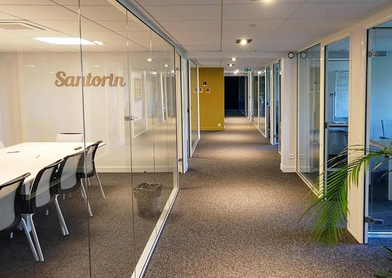 Architecte Lille Rénovation bureaux Nord VR-architecture miniature