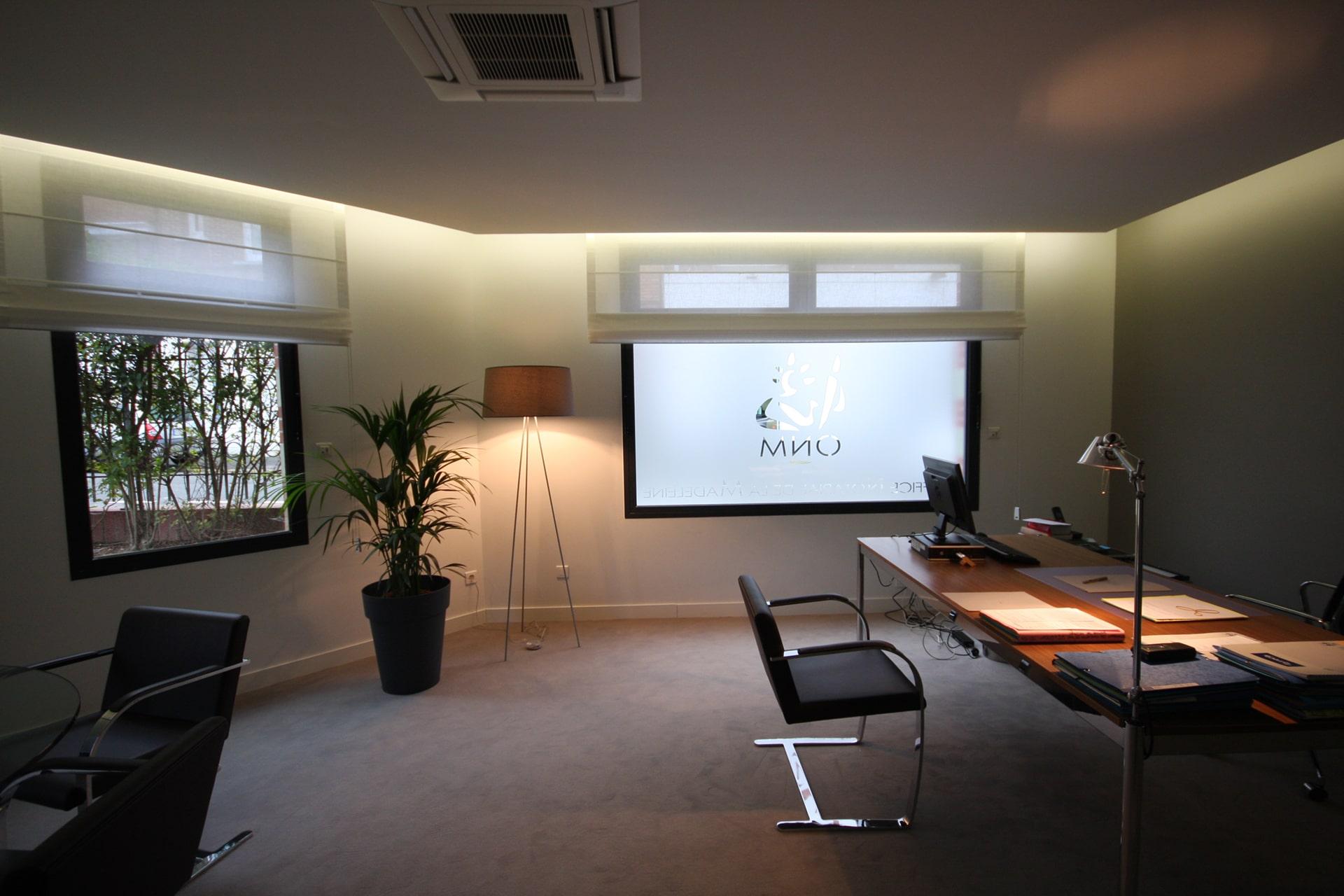 Architecte Lille renovation bureaux notaire Nord architecture interieur VR-architecture