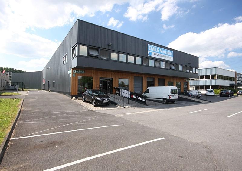 Rénovation d'un bâtiment d'activités (59)