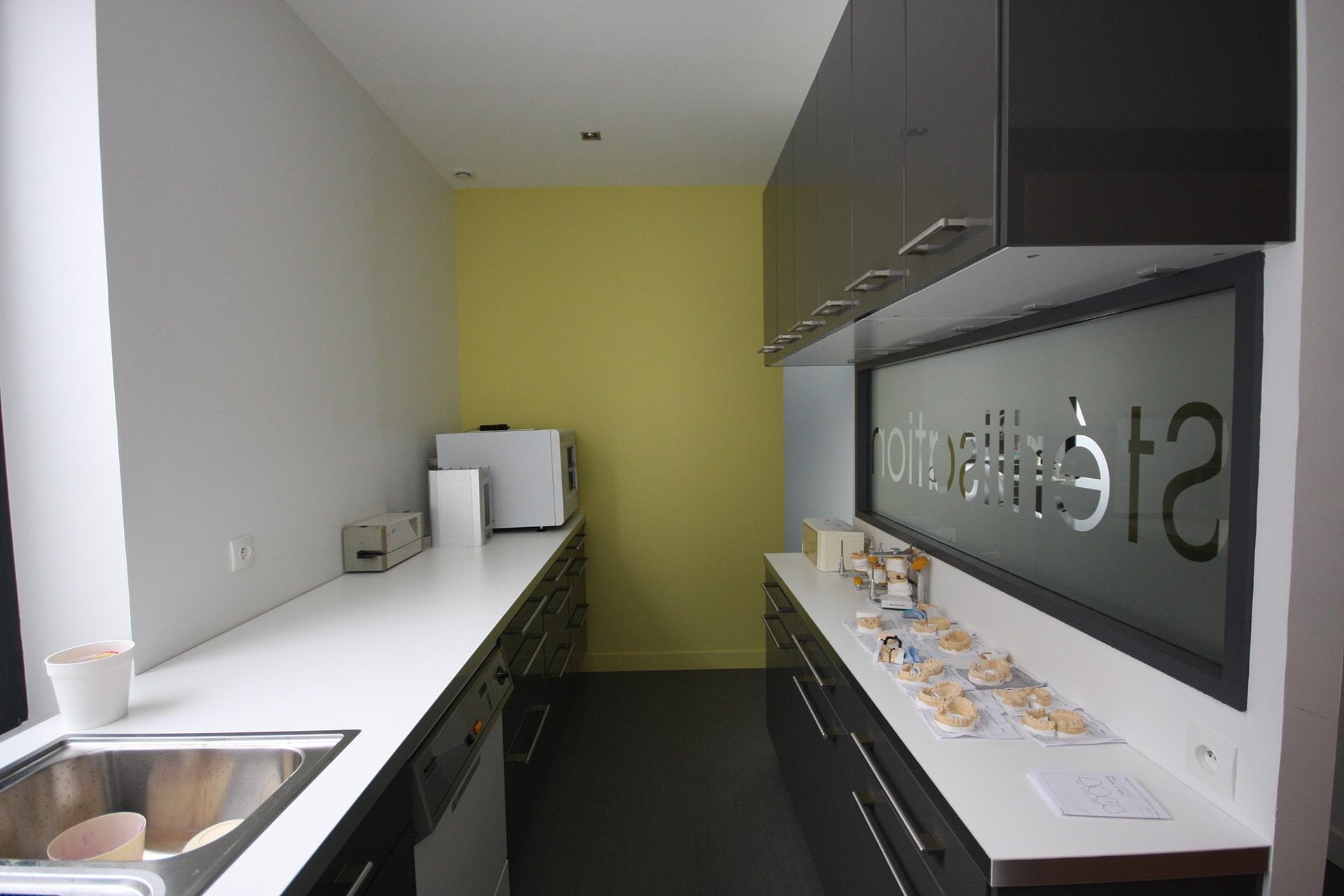 Architecte Lille Renovation Cabinet dentiste medical Nord VR-architecture