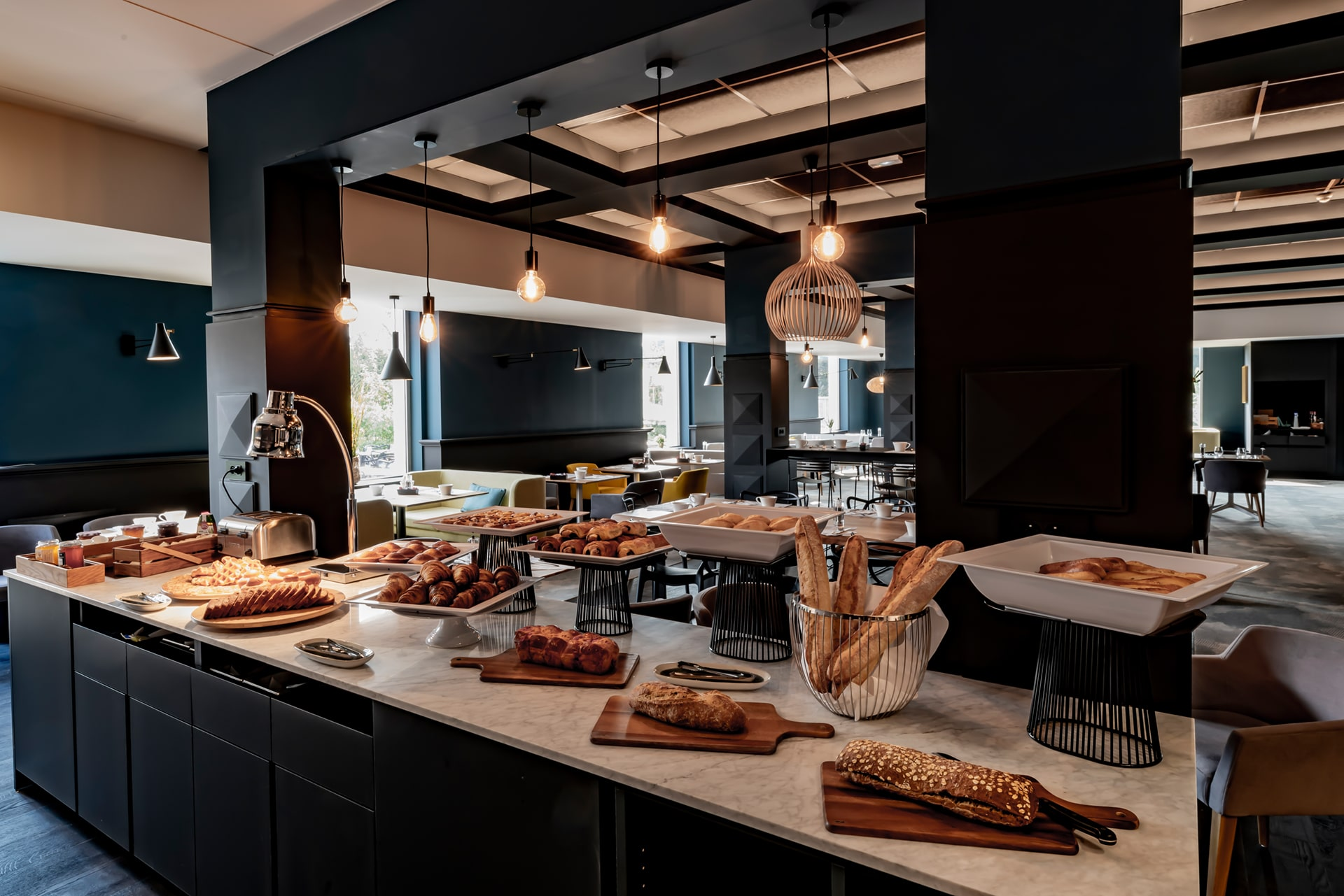 Architecte à Lille - renovation hotel buffet petit dejeuner VR-architecture 8