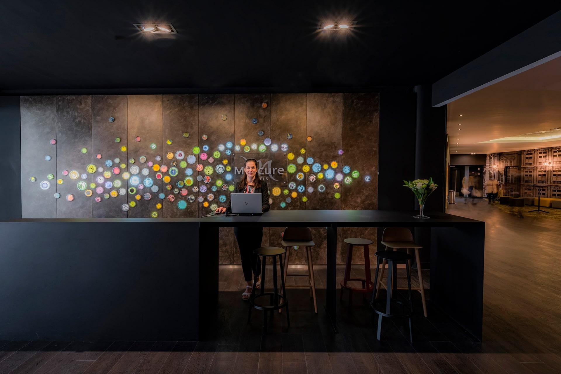 Architecte à Lille - renovation hotel lobby VR-architecture